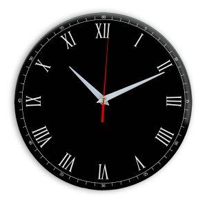 Настенные часы Ideal 903 черные