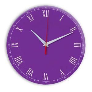 Настенные часы Ideal 903 фиолетовые