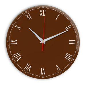 Настенные часы Ideal 903 коричневый