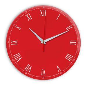 Настенные часы Ideal 903 красный