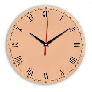 Настенные часы Ideal 903 оранжевый светлый