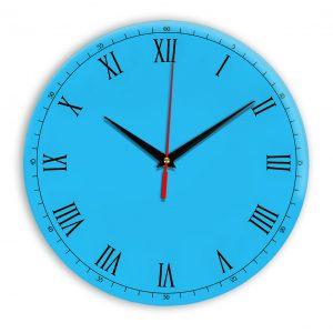 Настенные часы Ideal 903 синий светлый