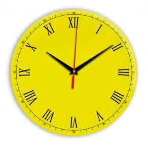 Настенные часы Ideal 903 желтые