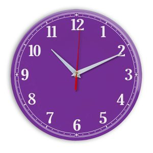Настенные часы Ideal 904 фиолетовые