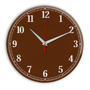 Настенные часы Ideal 904 коричневый