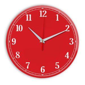 Настенные часы Ideal 904 красный