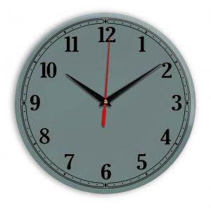 Настенные часы Ideal 904 серо синий