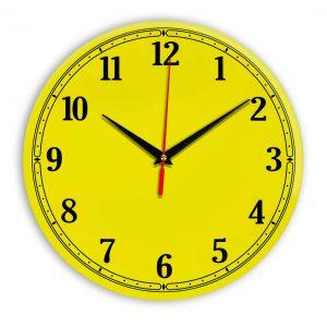 Настенные часы Ideal 904 желтые