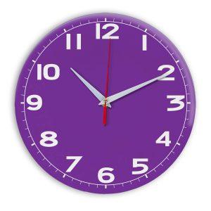 Настенные часы Ideal 905 фиолетовые
