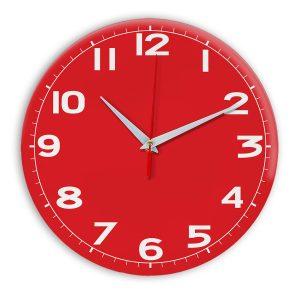 Настенные часы Ideal 905 красный