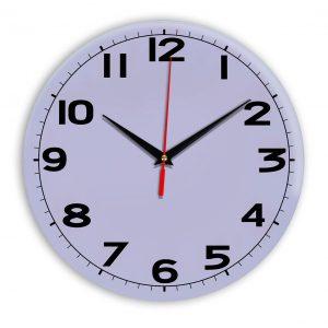 Настенные часы Ideal 905 сиреневый светлый