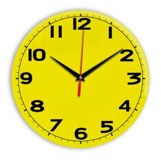 Настенные часы Ideal 905 желтые