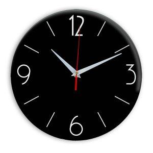 Настенные часы Ideal 906 черные