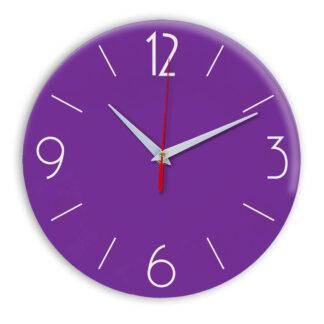Настенные часы Ideal 906 фиолетовые