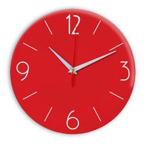 Настенные часы Ideal 906 красный