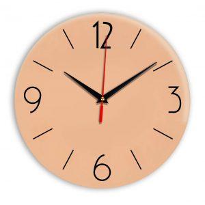 Настенные часы Ideal 906 оранжевый светлый
