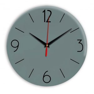 Настенные часы Ideal 906 серо синий