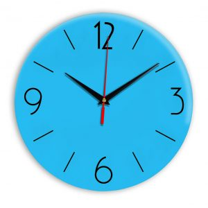 Настенные часы Ideal 906 синий светлый