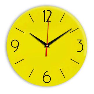 Настенные часы Ideal 906 желтые