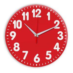 Настенные часы Ideal 907 красный