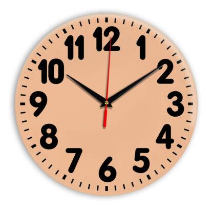 Настенные часы Ideal 907 оранжевый светлый