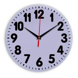 Настенные часы Ideal 907 сиреневый светлый