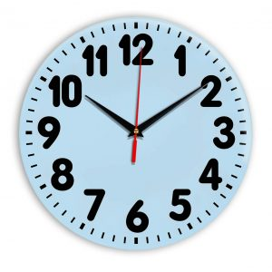 Настенные часы Ideal 907 светло-голубой