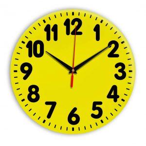 Настенные часы Ideal 907 желтые