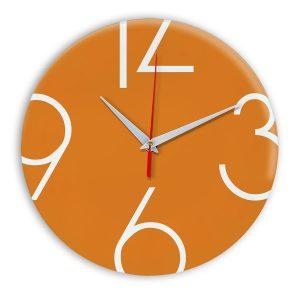 Настенные часы Ideal 908 оранжевый