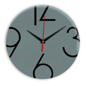 Настенные часы Ideal 908 серо синий