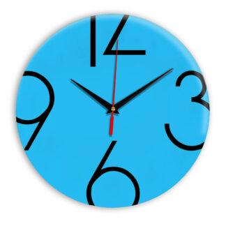 Настенные часы Ideal 908 синий светлый