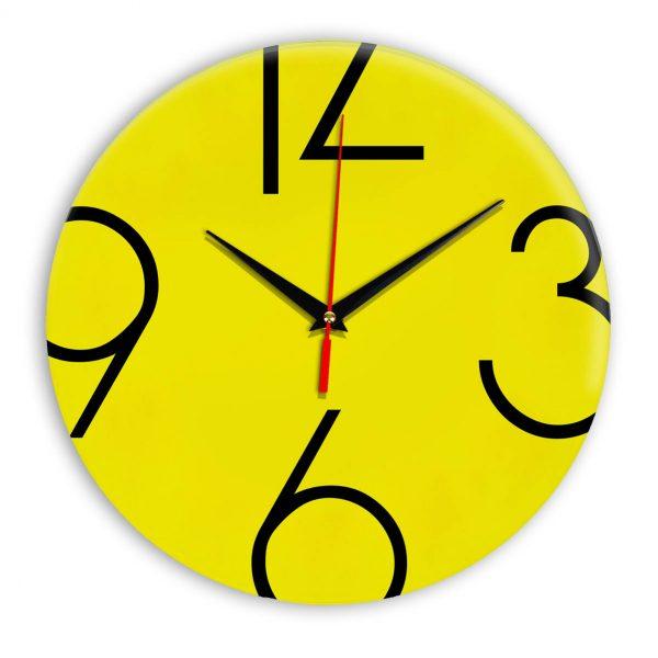 Настенные часы Ideal 908 желтые
