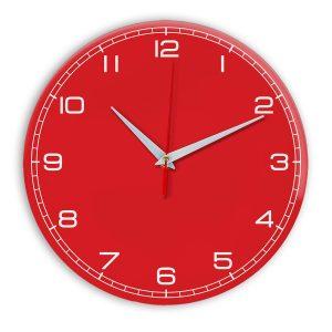 Настенные часы Ideal 909 красный