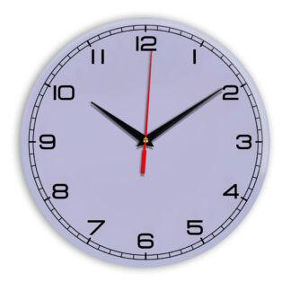 Настенные часы Ideal 909 сиреневый светлый