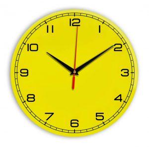 Настенные часы Ideal 909 желтые