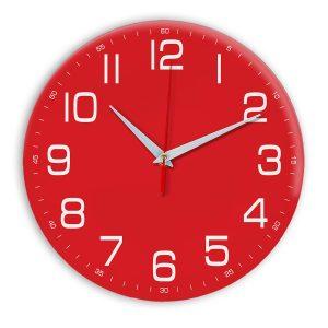 Настенные часы Ideal 911 красный