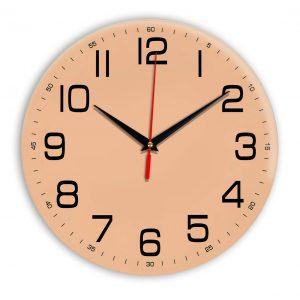 Настенные часы Ideal 911 оранжевый светлый