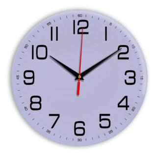 Настенные часы Ideal 911 сиреневый светлый