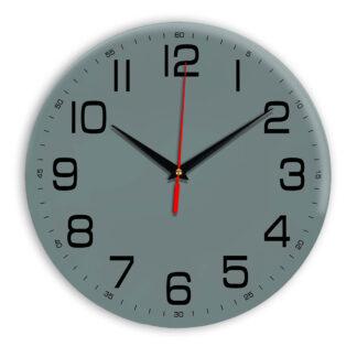 Настенные часы Ideal 911 серо синий