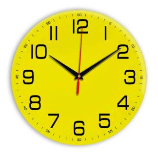 Настенные часы Ideal 911 желтые