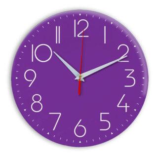 Настенные часы Ideal 912 фиолетовые