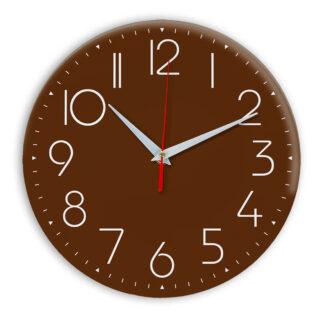 Настенные часы Ideal 912 коричневый