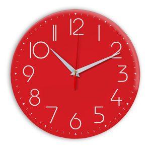 Настенные часы Ideal 912 красный