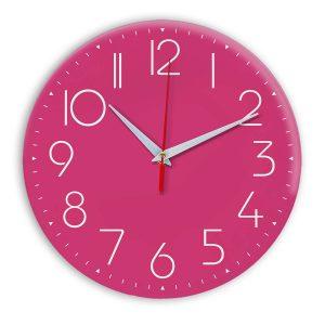 Настенные часы Ideal 912 розовые