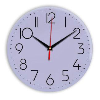 Настенные часы Ideal 912 сиреневый светлый
