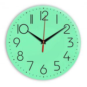 Настенные часы Ideal 912 светлый зеленый