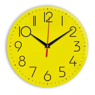 Настенные часы Ideal 912 желтые