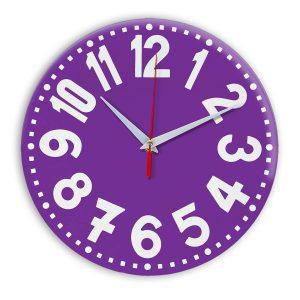 Настенные часы Ideal 913 фиолетовые