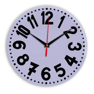 Настенные часы Ideal 913 сиреневый светлый
