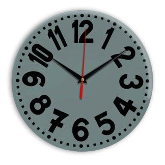 Настенные часы Ideal 913 серо синий